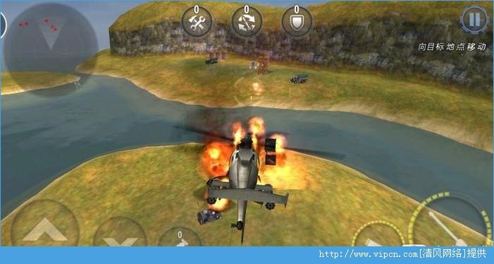 3D直升机炮艇战中文破解版图片2