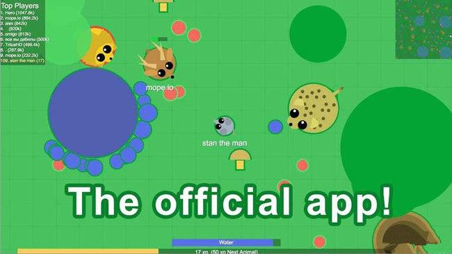 mope.io各动物阶段怎么用 各动物玩法介绍[图]