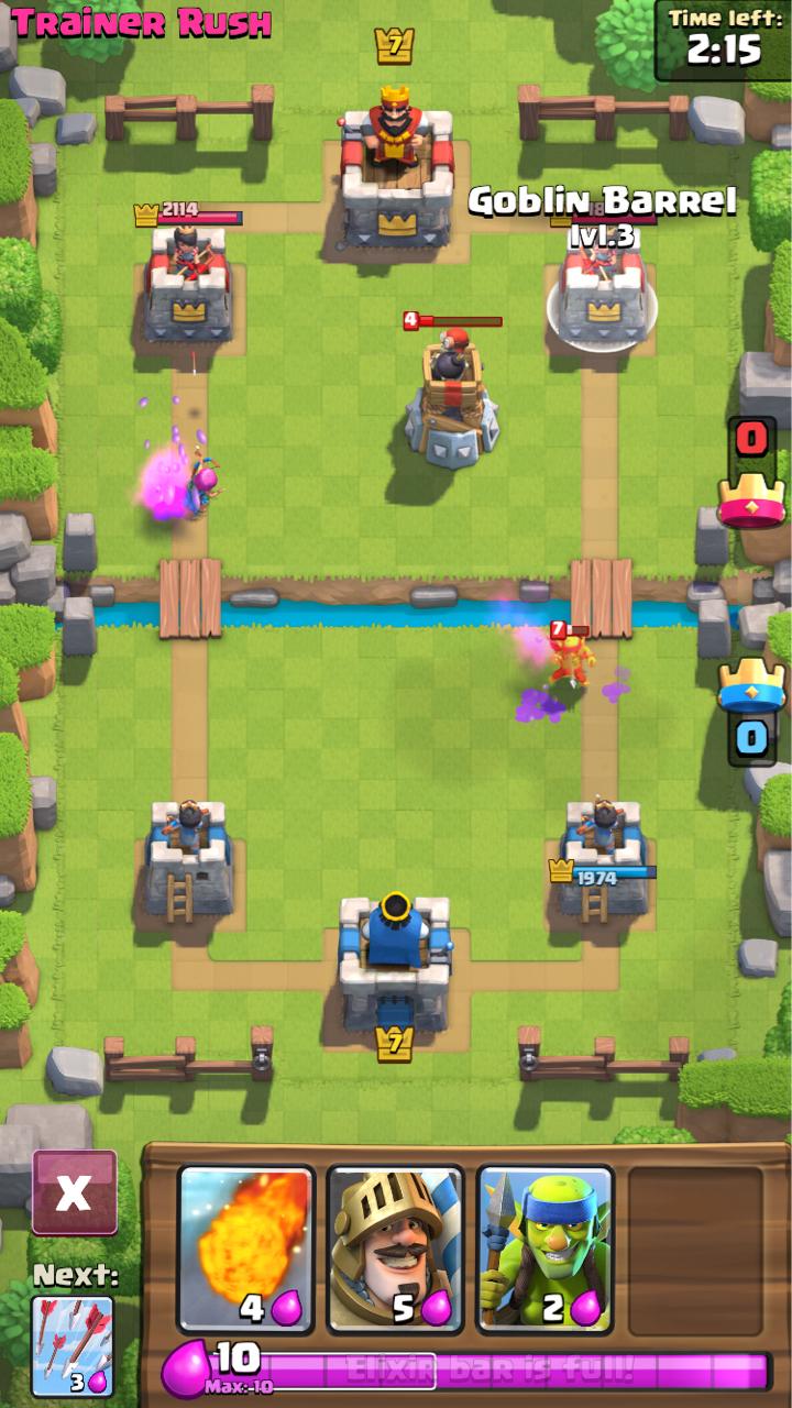 皇家冲突Clash Royale哥布林桶怎么使用 哥布林桶使用技巧[多图]