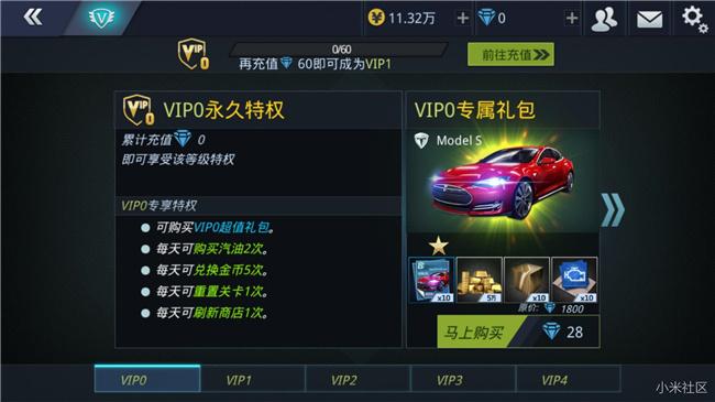 小米赛车VIP多少钱 各VIP等级价格表一览[多图]