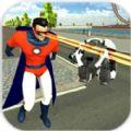 飞翔英雄3D游戏
