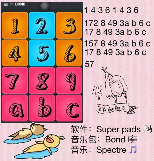 super pads教程Spectre数字谱子大全介绍:Spectre谱子怎么弹奏[多图]
