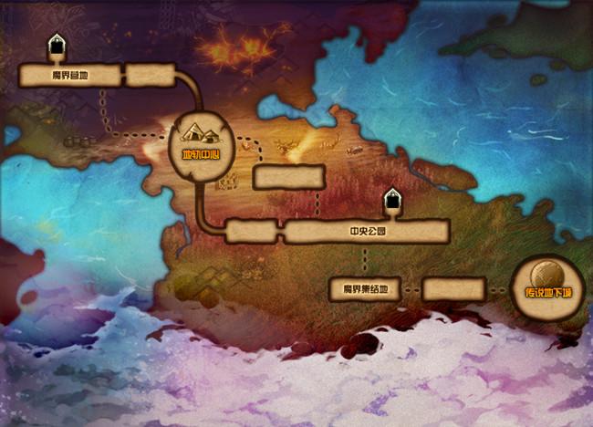 DNF传说地下城在哪里进入?传说地下城进入位置一览[多图]
