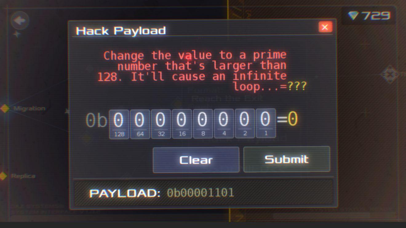 数据之翼大于128的素数是什么?Hack Payload数字答案大全[图]