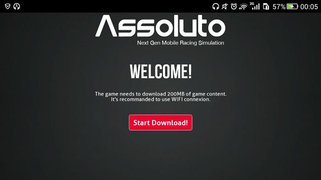 绝对赛车Assoluto Racing提示start download怎么办?数据包下载地址分享[图]