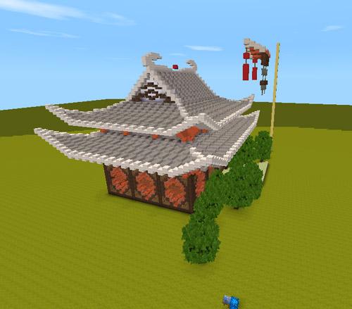 迷你世界建筑蓝图自建古典小屋[多图]图片6