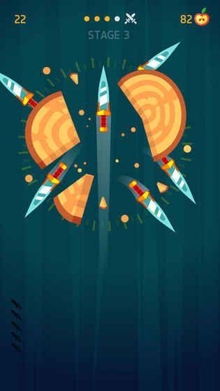 Knife Hit游戏安卓版图片1
