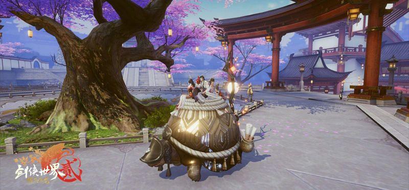 剑侠世界2最新资料片11月14日上线 坐骑玄龟正式上线附视频[多图]图片2