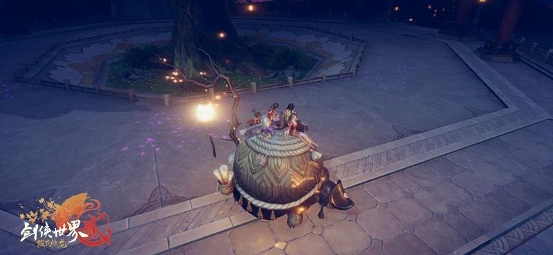 剑侠世界2最新资料片11月14日上线 坐骑玄龟正式上线附视频[多图]图片3