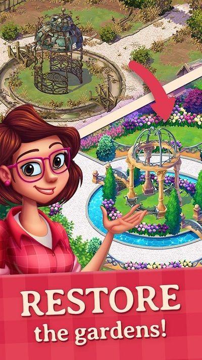 莉莉的花园游戏安卓版(Lilys Garden)图片3