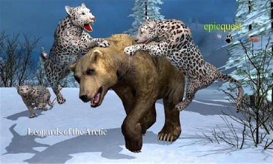北极豹生存模拟器游戏手机版图片1