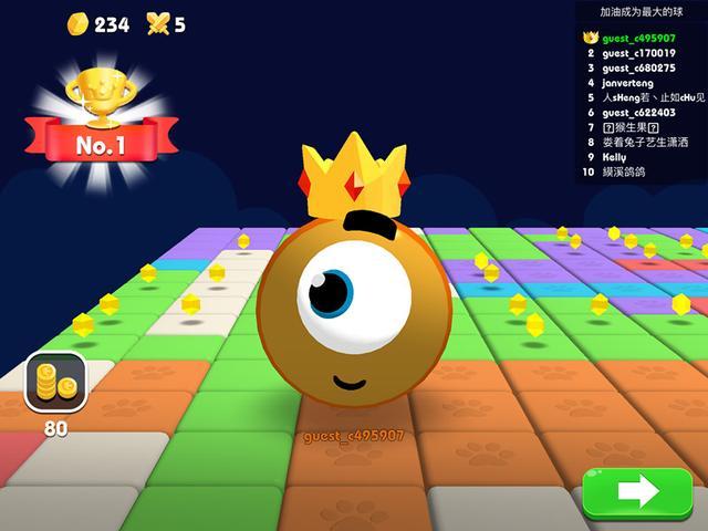 酱爆大乱跳(JumpBall.io)全新休闲玩法来袭!如何成为最大的球[多图]图片8