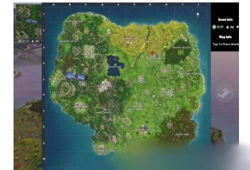 堡垒之夜手游哪里资源多?最佳跳伞位置推荐[图]