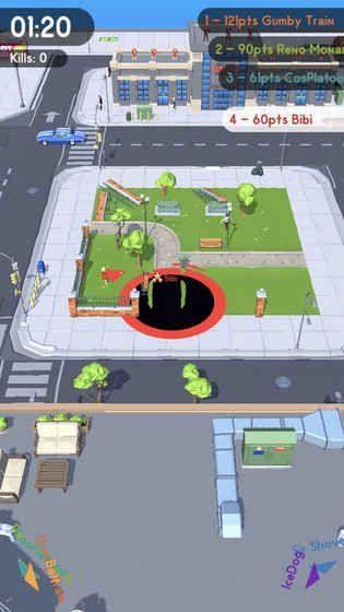 黑洞大挑战抖音游戏手机版(Hole.io)图片1