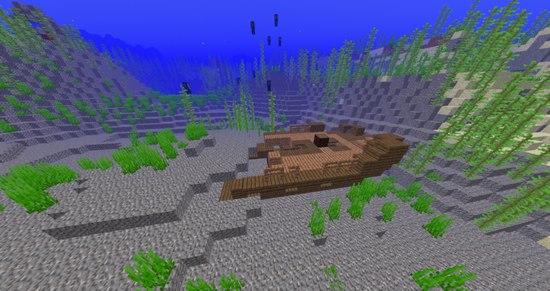 我的世界沉船战利品沉船宝藏有什么[多图]
