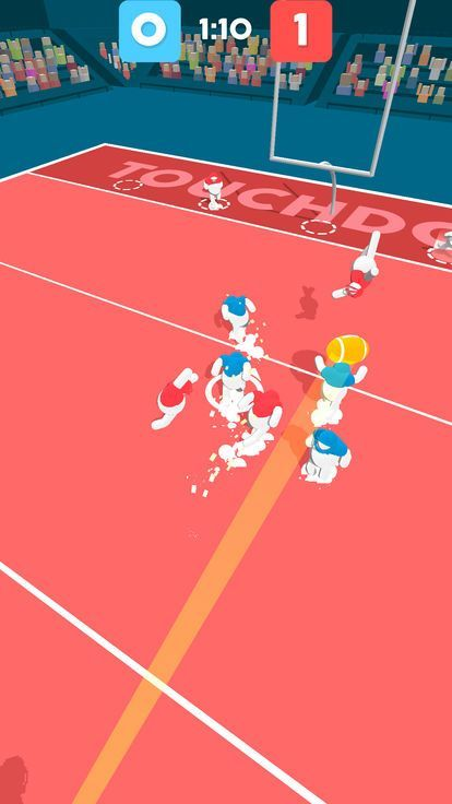 滚动橄榄球游戏安卓版(ball mayhem)图片1