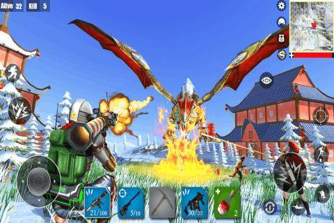 堡垒求生绝地吃鸡战场手游官方安卓版图片2