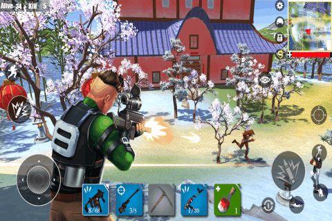 堡垒求生绝地吃鸡战场手游官方安卓版图片3