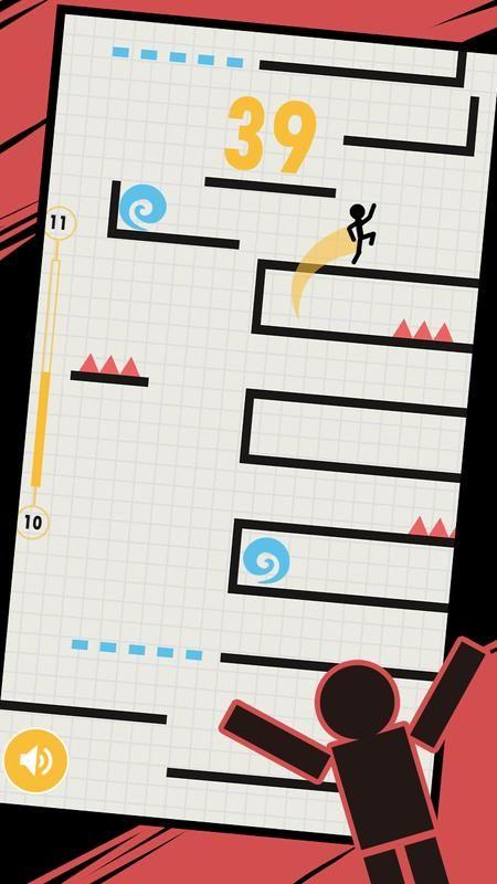 小人折叠跳游戏图片2