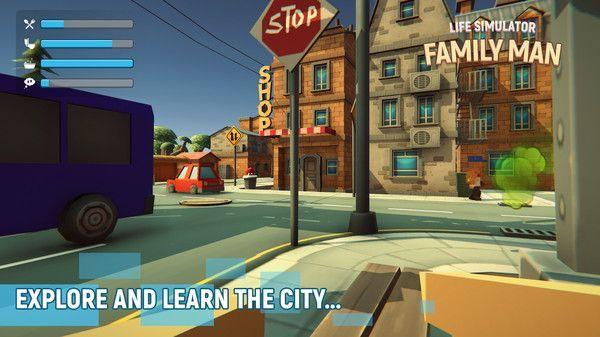 方块模拟人生游戏图片1