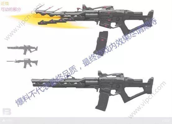 穿越火线枪战王者五月新版本爆料 可以自由变形的枪械[多图]图片6
