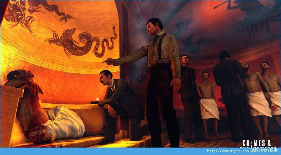 《福尔摩斯:罪与罚》游乐园汉化补丁